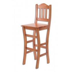 Barová stolička z masívu KT111