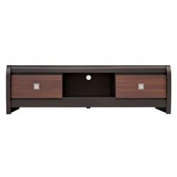 TV stolík s dvomi zásuvkami