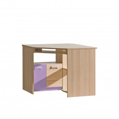Rohový PC stôl LORENTO L11