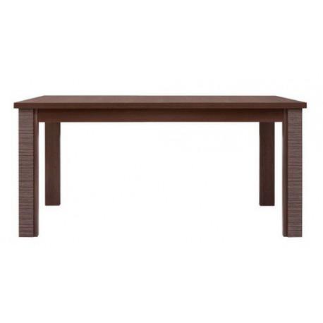 Jedálenský stôl v dvoch farbách