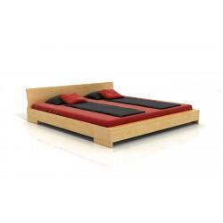 Masívna buková manželská posteľ