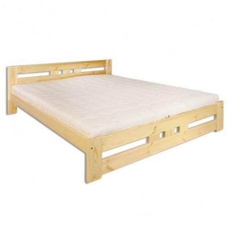 Masívna posteľ do spálne LK117