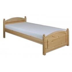Jednolôžková masívna posteľ LK126