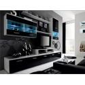 Obývačka LEO s modrým osvetlením