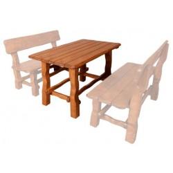 Masívny stôl do záhrady MO211