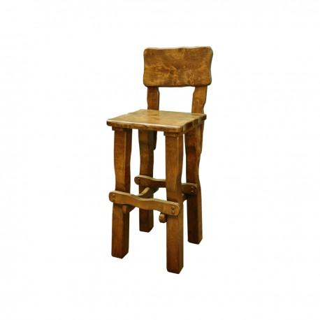 Vysoká masívna stolička MO099