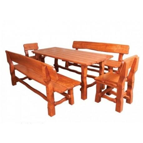Masívny stôl do záhrady MO212