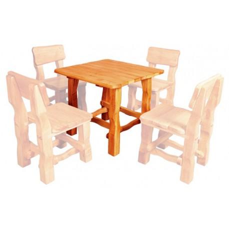 Masívny stôl do záhrady MO213