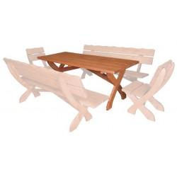 Masívny stôl MO104