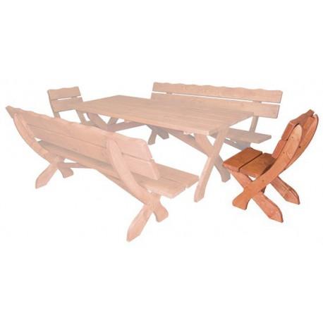 Masívna stolička MO104