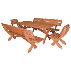 Zostava  MO104 zo smrekového dreva