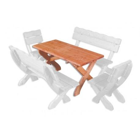 Masívny stôl MO105