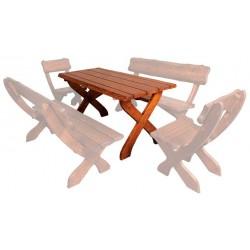 Masívny záhradný stôl MO230