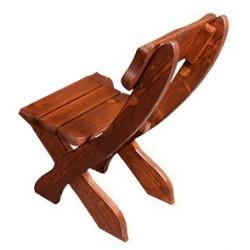 Masívna záhradná stolička MO230