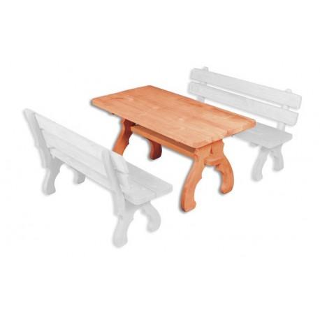 Masívny záhradný stôl MO106