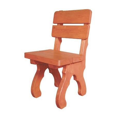 Záhradná masívna stolička MO103