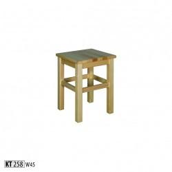 Drevená taburetka KT258