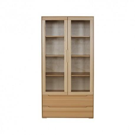 Vitrína z bukového dreva KW421