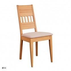 Stolička s čalúnením a masívnou konštrukciou KT174