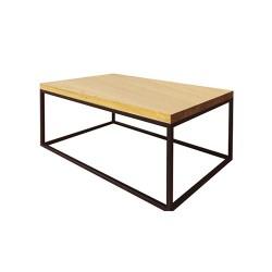 Dubový stôl s hrúbkou vrchnej dosky 4 cm ST375