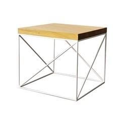 Dubový stôl s hrúbkou vrchnej dosky 4 cm ST376