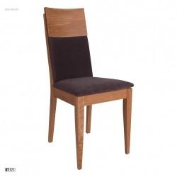 Stolička s čalúnením a masívnou konštrukciou KT371