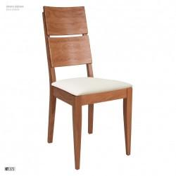 Stolička s čalúnením a masívnou konštrukciou KT373