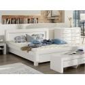 Čalunená manželská posteľ Karin 80218