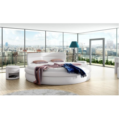 Kruhová manželská posteľ 81211