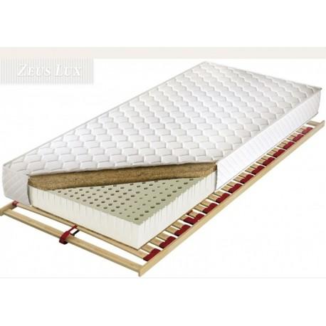 Latexový matrac s kokosovu doskou  Zeus lux L/Z