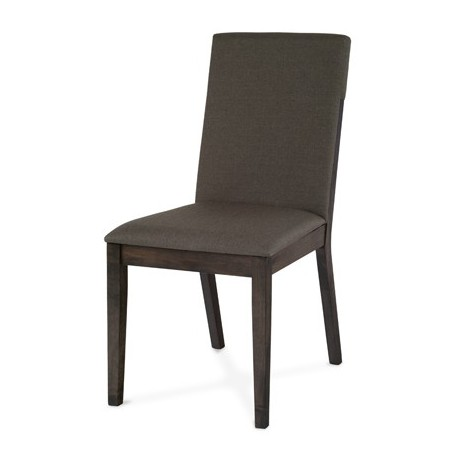 Sivá jedálenská stolička ARC-7137