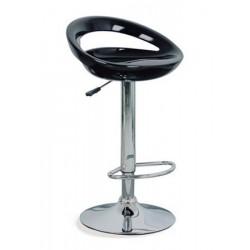 Čierna barová stolička