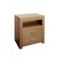 Hnedý nočný stolík