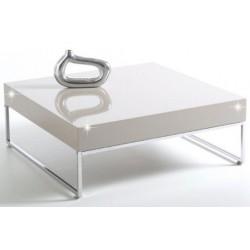 Biely konferenčný stolík BOTTI