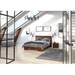 Vyššia borovicová posteľ GOTLAND HIGH