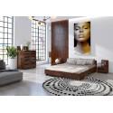 Manželská posteľ z borovicového dreva BERGMAN