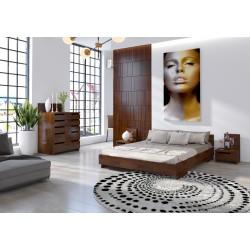 Borovicová manželská posteľ z borovice- 220 cm
