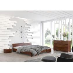 Masívna posteľ z borovice HESSLER