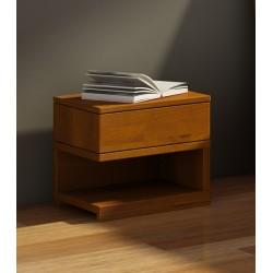Nočný stolík z bukového dreva LAGERKVIST