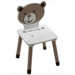 Detská stolička s macíkom