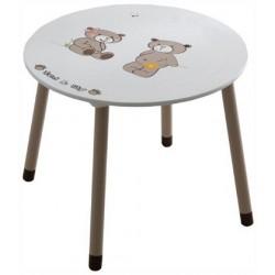 Detský stolík s mackom