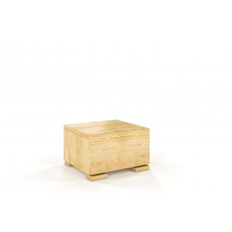 Nočný stolík HESSLER z borovice prírodné morenie