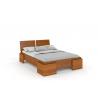Vysoká borovicová posteľ ARGENTO morenie jelša