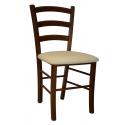 Drevená stolička z masívu TOMASSO