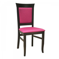 Čalúnená masívna stolička
