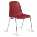 Jedálenská stohovateľná plastová stolička