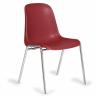 Jedálenská plastová stolička