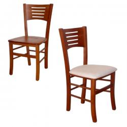 Hotelová stolička s bukovou kostrou
