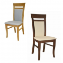 Čalúnená stolička s bukovou alebo dubovou kostrou