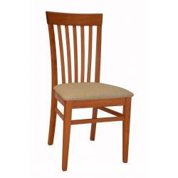 Elegantná jedálenská stolička z masívu